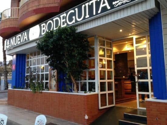 Restaurante Nueva Bodeguita en Mazarrón es cliente de Cafés Bernal