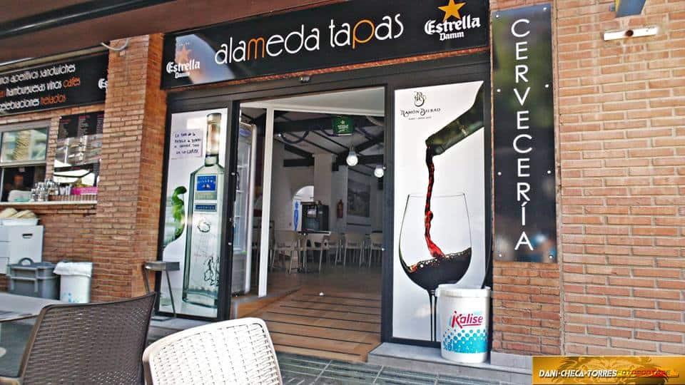 Alameda Tapas cafés Bernal